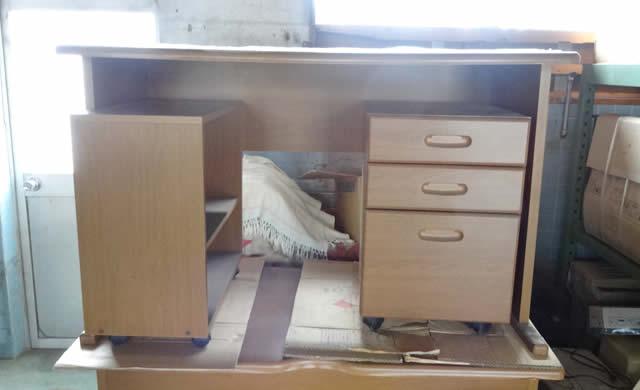 木製机 棚セット