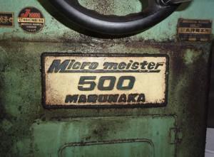 研磨機 Micromeister 500