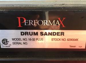 ドラムサンダー 16-32 PLUS