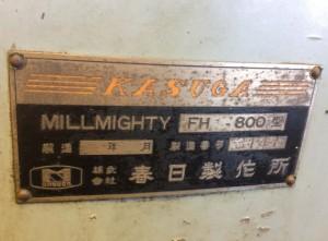 フライス盤 FH-800