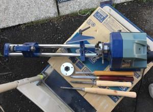 無段変速木工旋盤 WT-100
