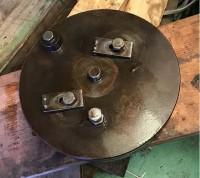 旋盤用 フランジ軸 φ230mm